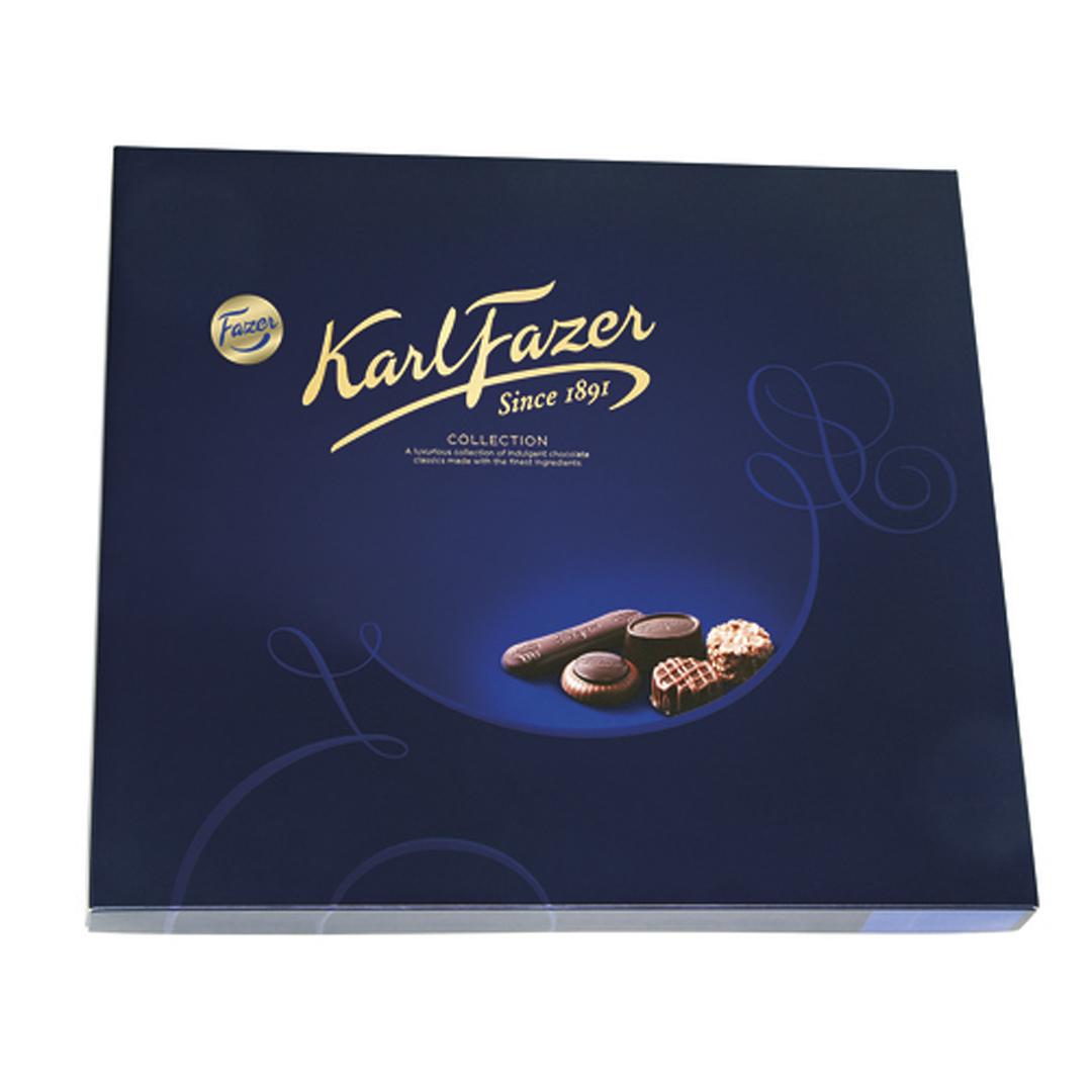 Karl Fazer collection art edition suklaakonvehti