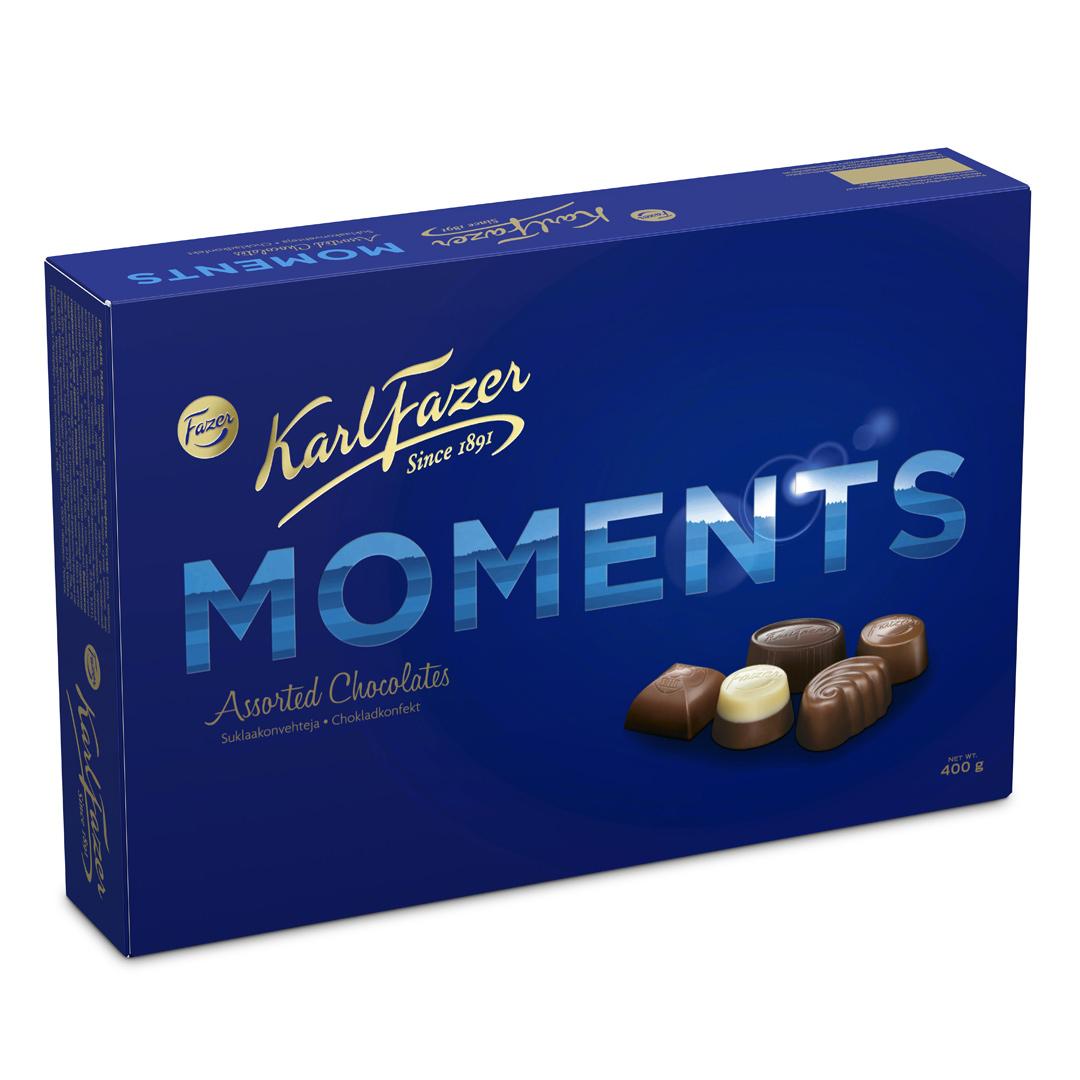 Karl Fazer moments suklaakonvehti