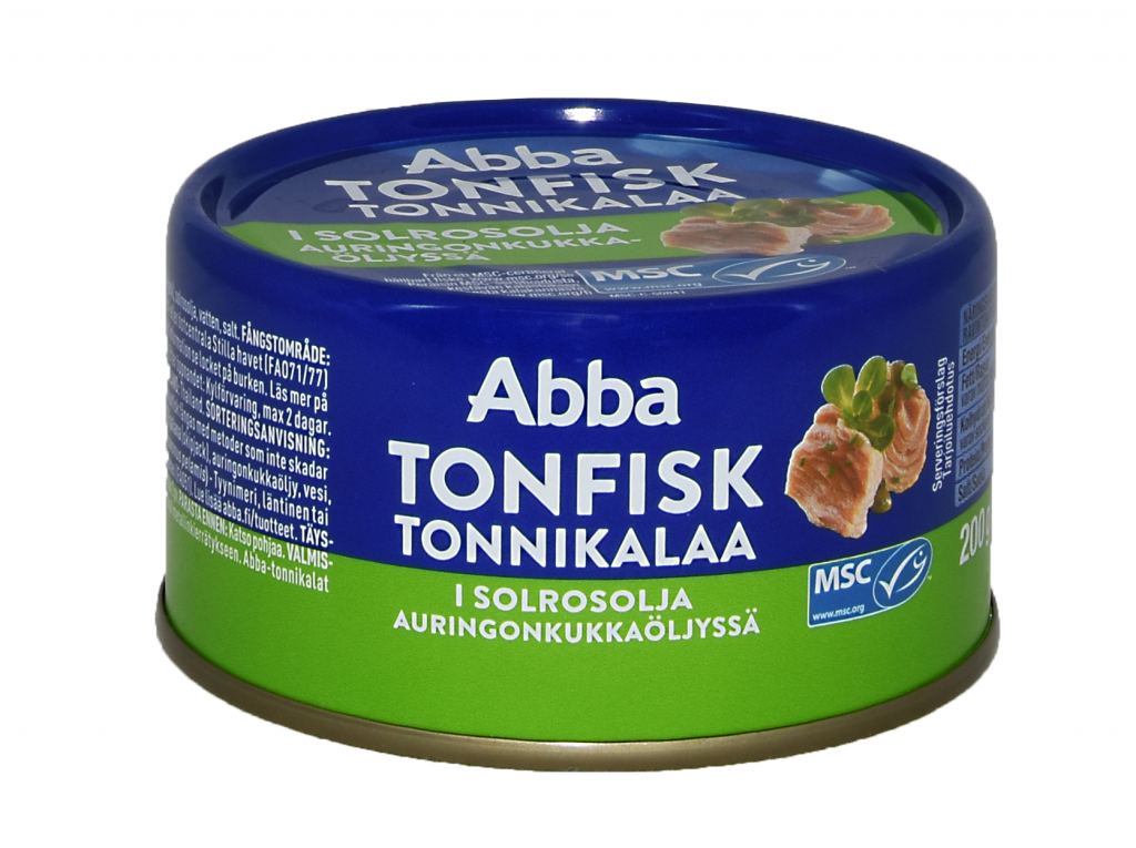 Abba Msc Tonnikalaa Öljyssä 200 (L,M)