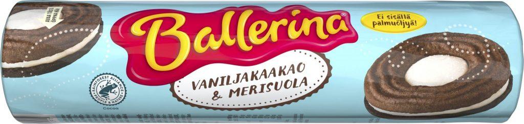 Ballerina Vaniljakaakao & Merisuola 205g