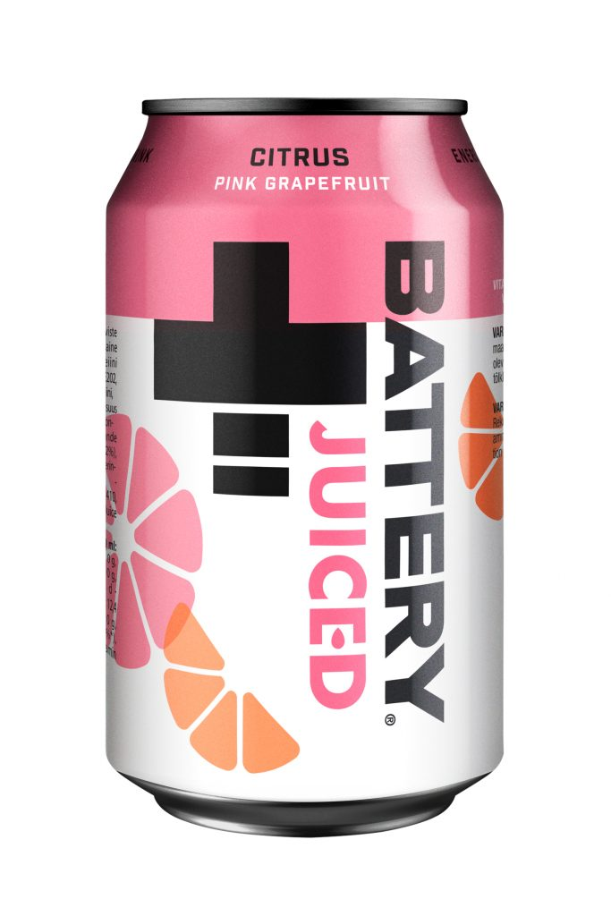 Battery Citrus Energiajuoma 0,33l tlk