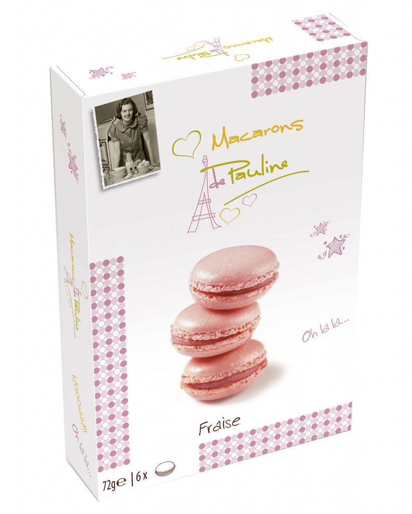 Biscuit de Pauline Macarons Mansikka 72g