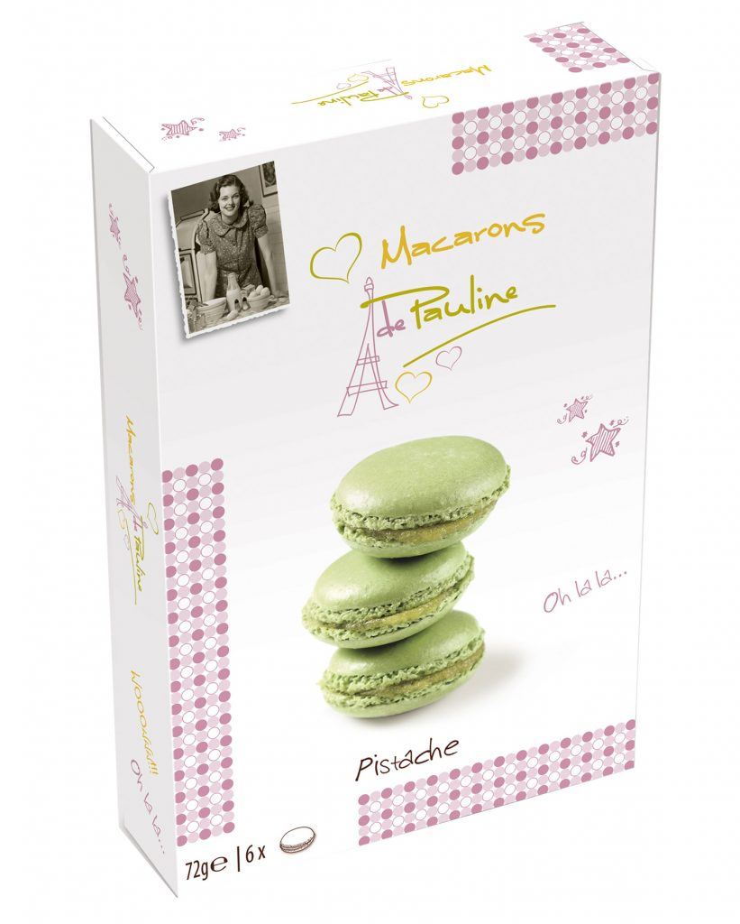 Biscuit de Pauline Macarons Pistaasi 72g