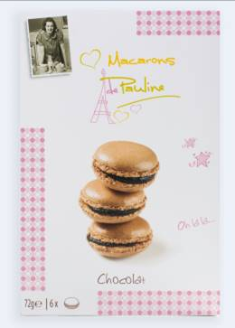 Biscuit de Pauline Macarons Suklaa 72g