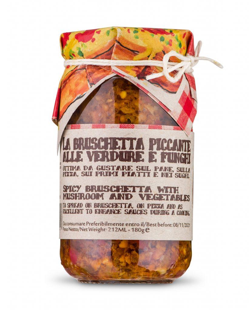 Bruschettakastike HOT Calabria 180g