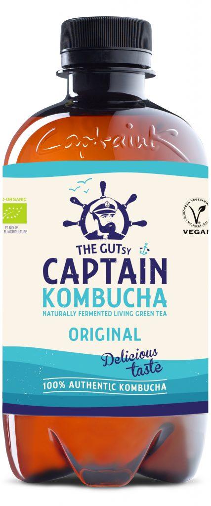 Captain Kombucha Original Luomu 0,4l