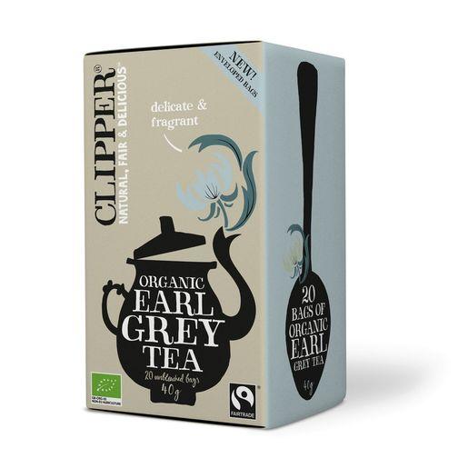 Clipper Earl Grey Tee  Luomu 20pss