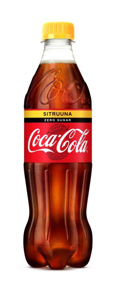 Coca-Cola Zero Sitruuna 0,5l