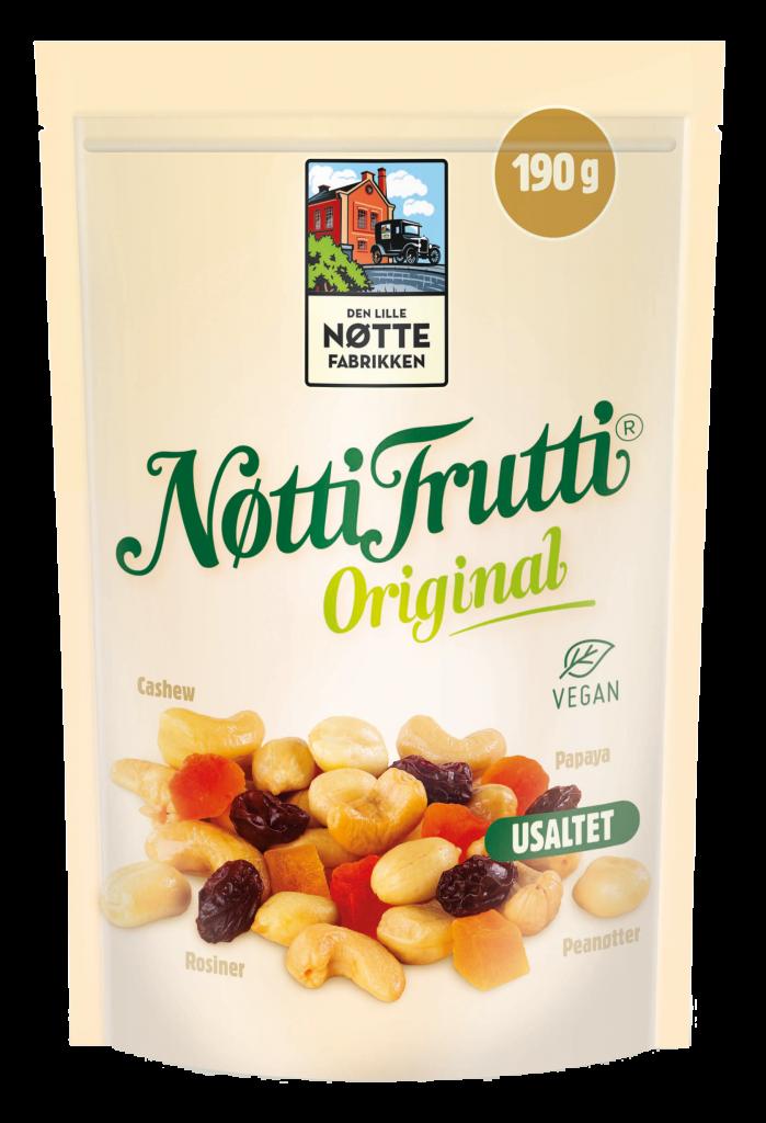 DLN Nötti Frutti pähkinä-hedelmäsekoitus 190g
