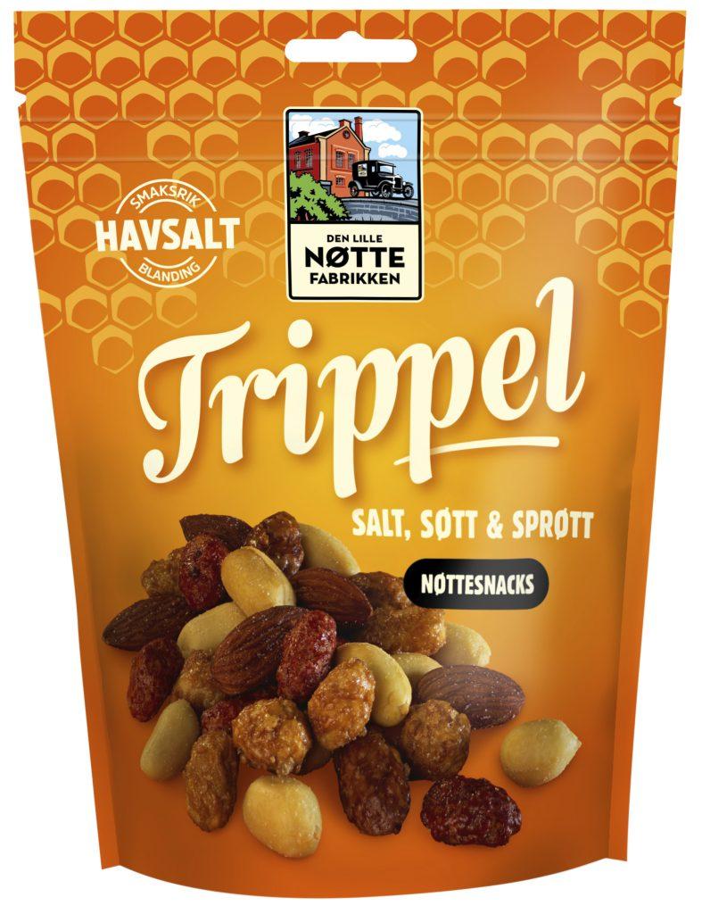 Den Lille Nøttefabrikken Trippel Pähkinäsekoitus 250g