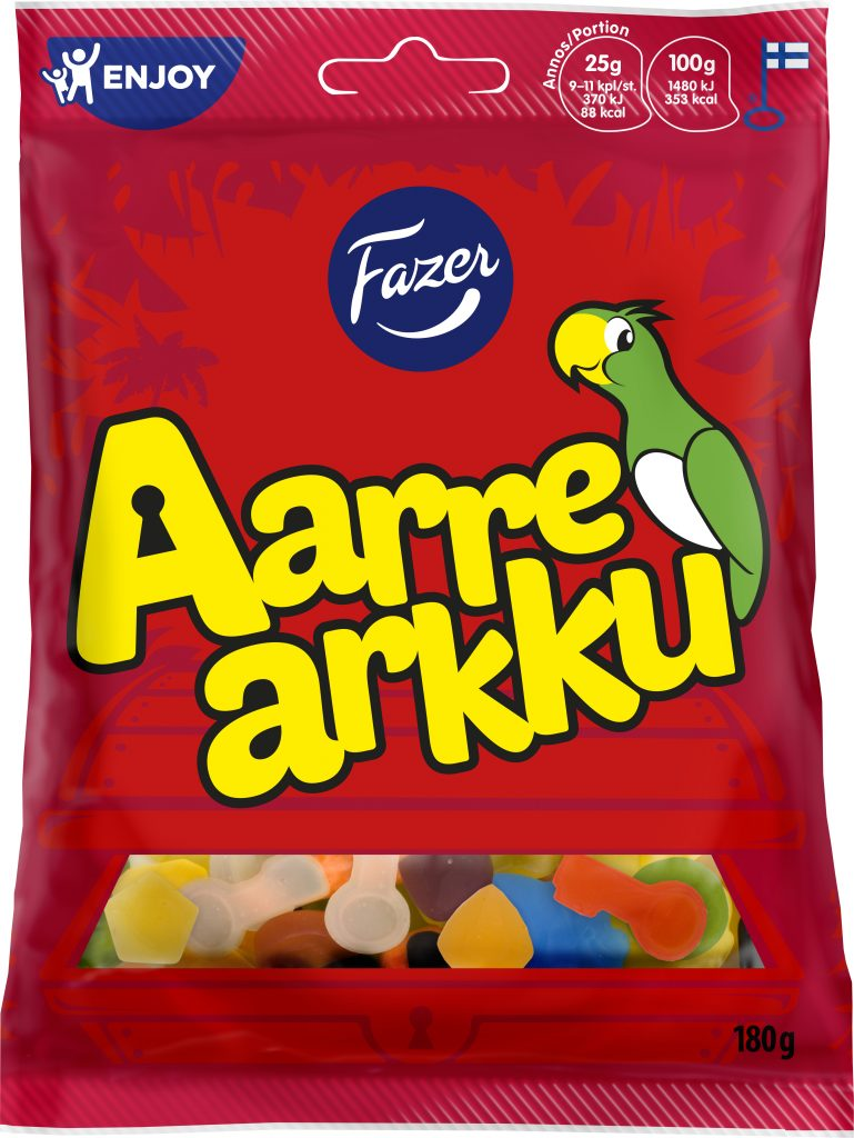 Fazer Aarrearkku Makeispussi 180g