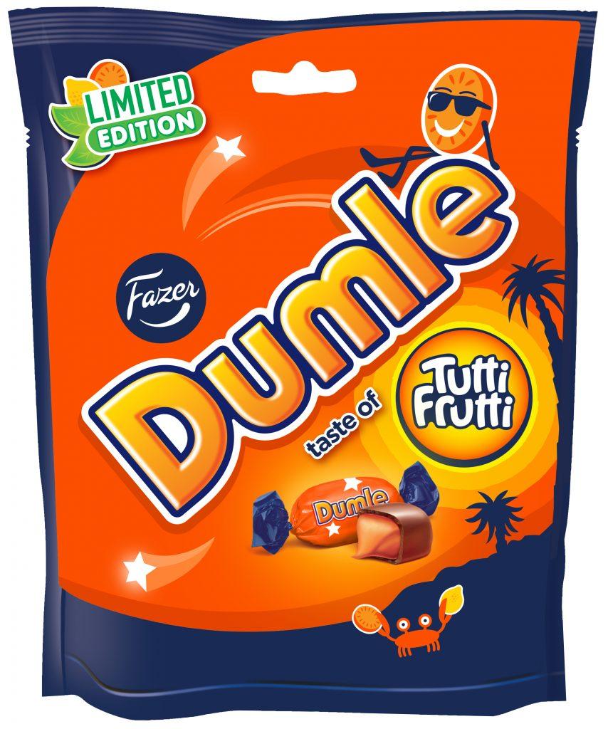 Fazer Dumle Tutti Frutti Seasonal 220g