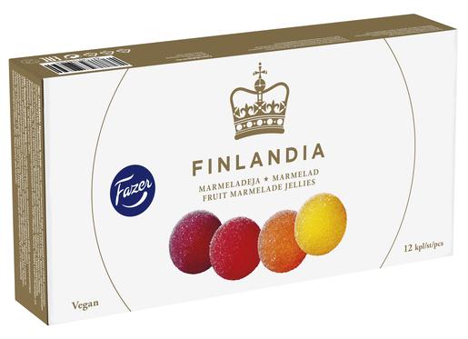 Fazer Finlandia Marmeladikuula260g (G,L,V)