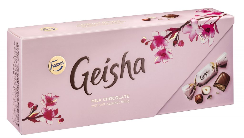 Fazer Geisha Maitosuklaa Konvehteja 270g