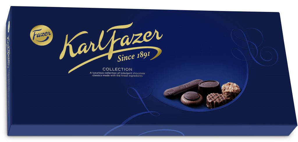 Fazer Karl Fazer Collection Suklaakonvehteja 275g