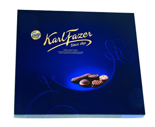 Fazer Karl Fazer Collection Suklaakonvehteja 825g