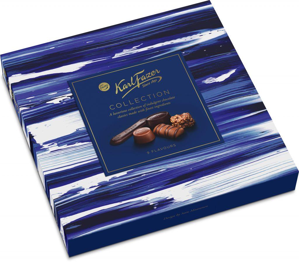 Fazer Karl Fazer Collection Suklaakonvehteja145g