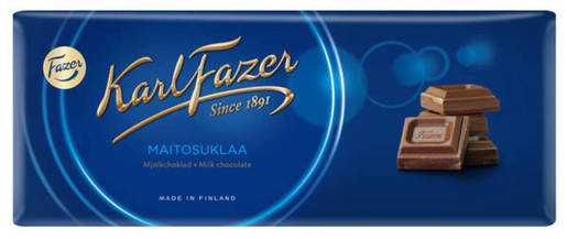 Fazer Karl Fazer Maitosuklaalevy 200g