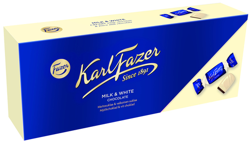 Fazer Karl Fazer Sininen & Valkoinen Konvehteja 270g
