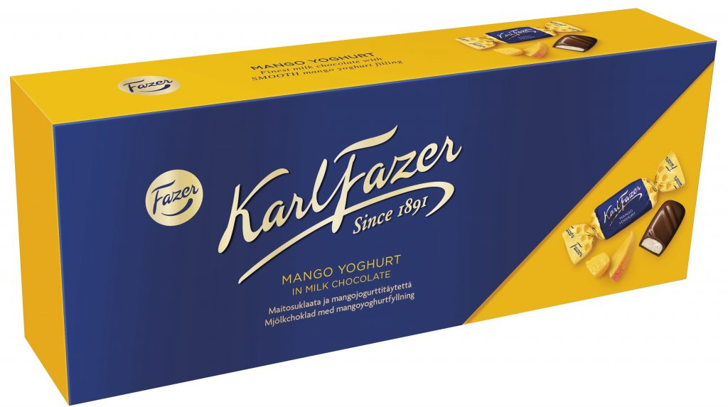 Fazer Mangojogurtti Suklaakonvehti 270g