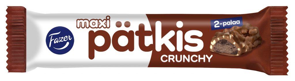 Fazer Pätkis Maxi Crunchy Suklaapatukka 55g