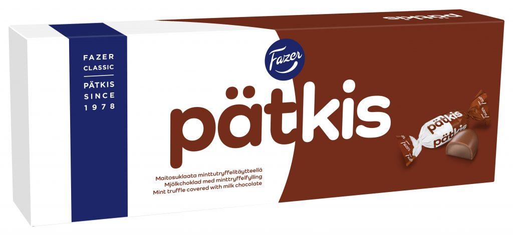 Fazer Pätkis Suklaakonvehti Box 320g