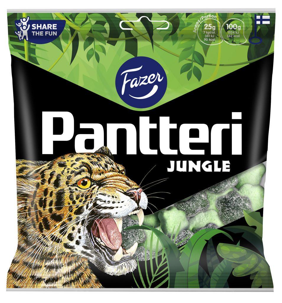 Fazer Pantteri Jungle Mix Makeispussi 280g
