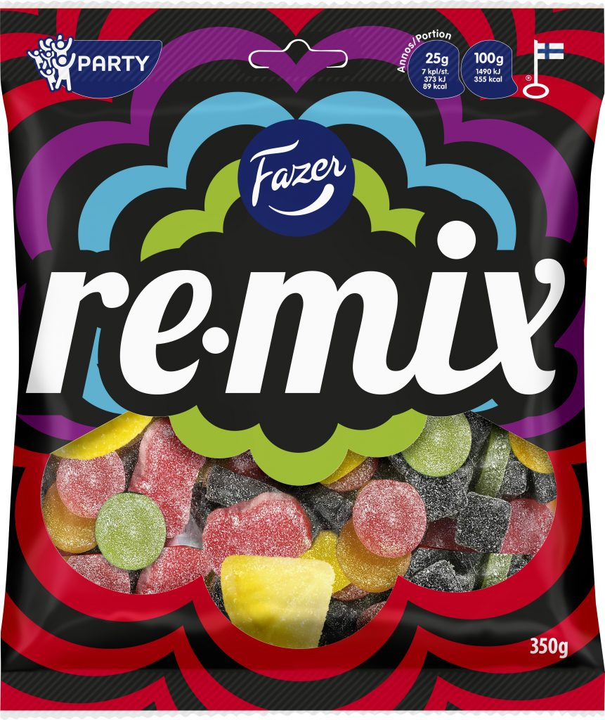 Fazer Remix Makeispussi 350g (L,M)