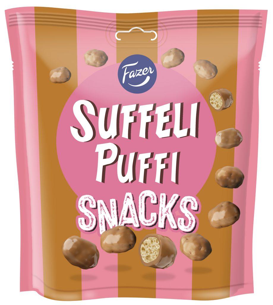 Fazer Suffeli Puffi Snacksmakeinen 180g