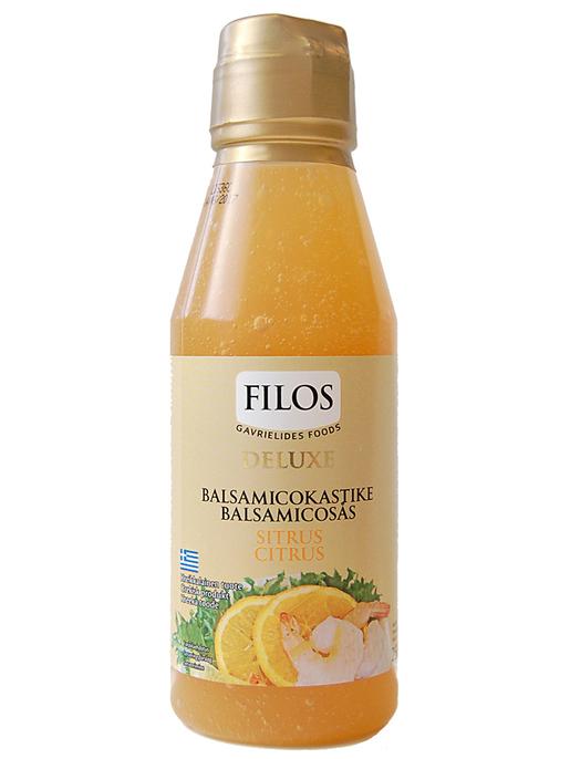 Filos Deluxe Vaalea Sitrus-Balsamicokasike 250ml