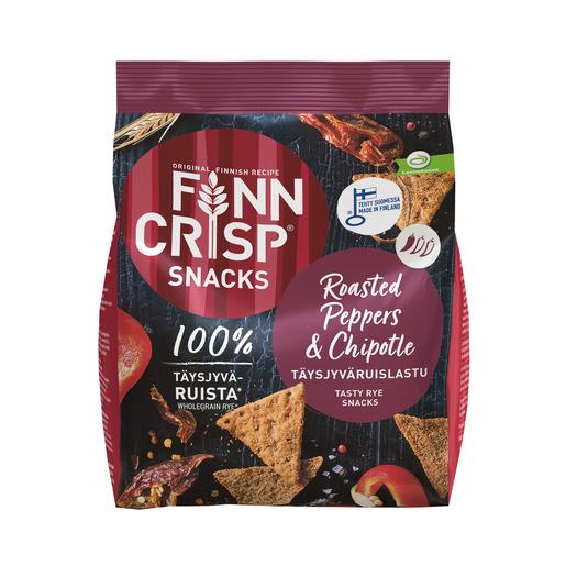 Finn Crisp Rye Snack Roasted Peppers & Chipotle 150g