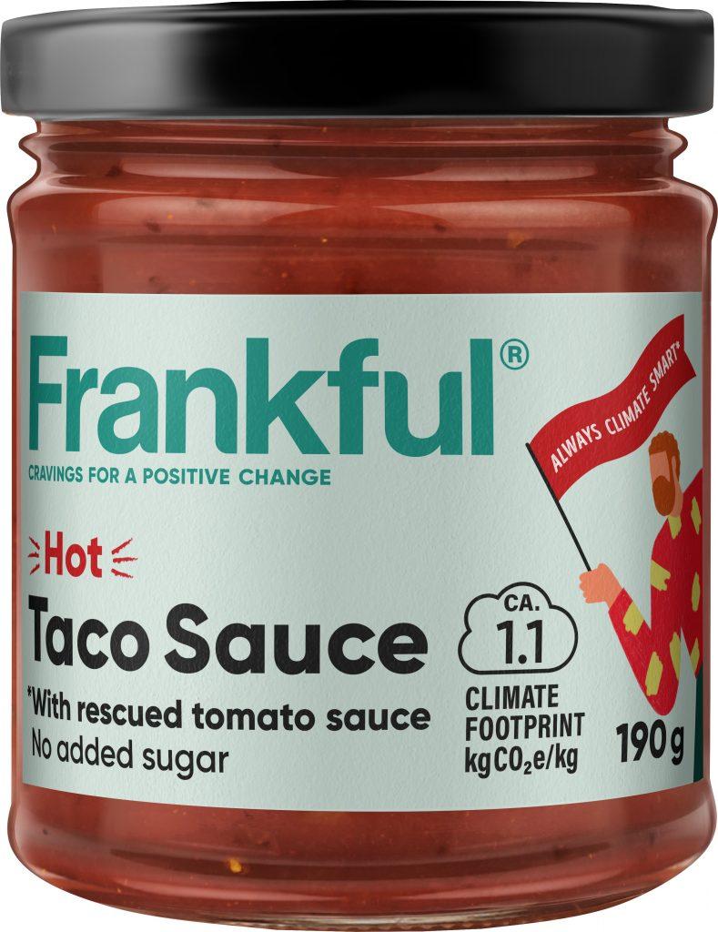 Frankful Taco Sauce Hot Tulinen 190g (G,L)