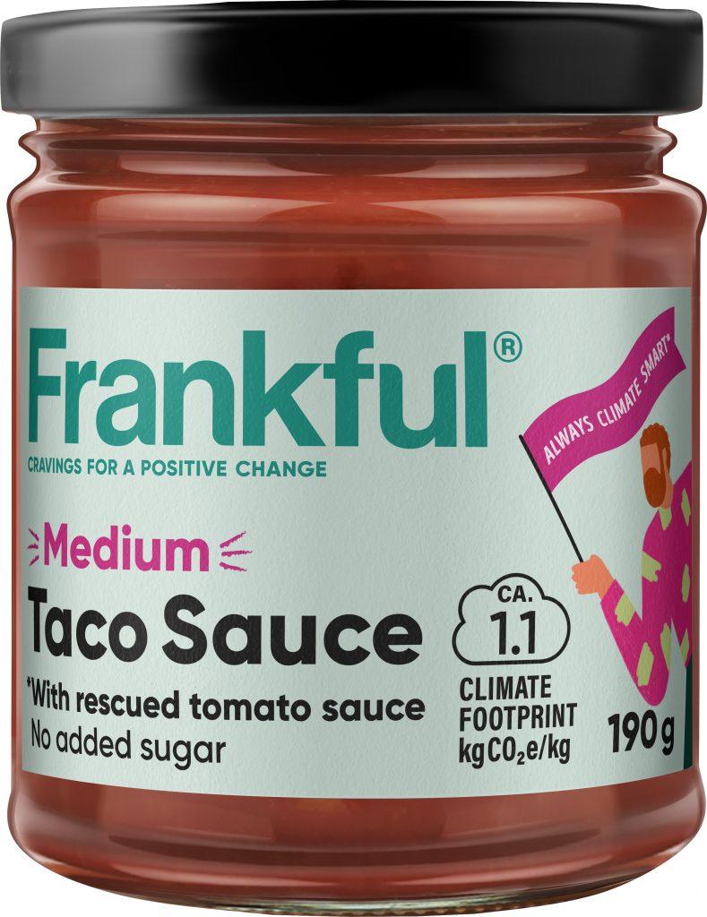 Frankful Taco Sauce Medium Salsa 190g (G,L)