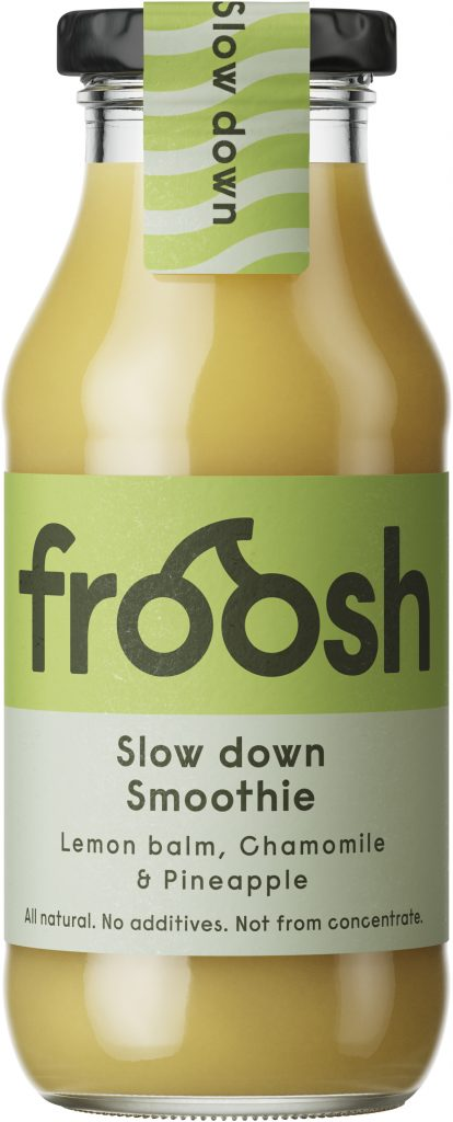 Froosh Slow Down Smoothie 250ml (G,L,M,V)