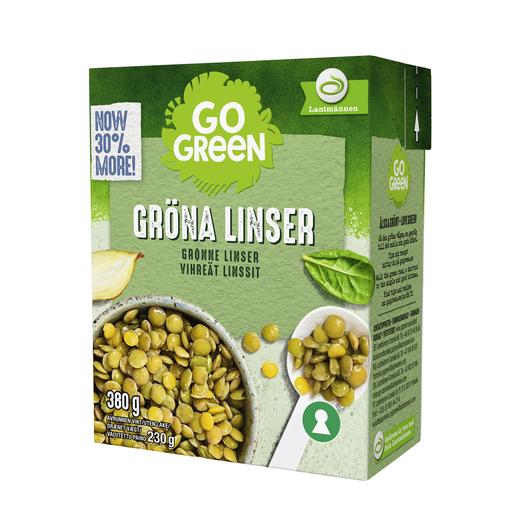Gogreen Vihreät Linssit 380g