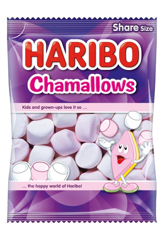 Haribo Original Vaahtokarkki Chamal 250g (G,L,M)