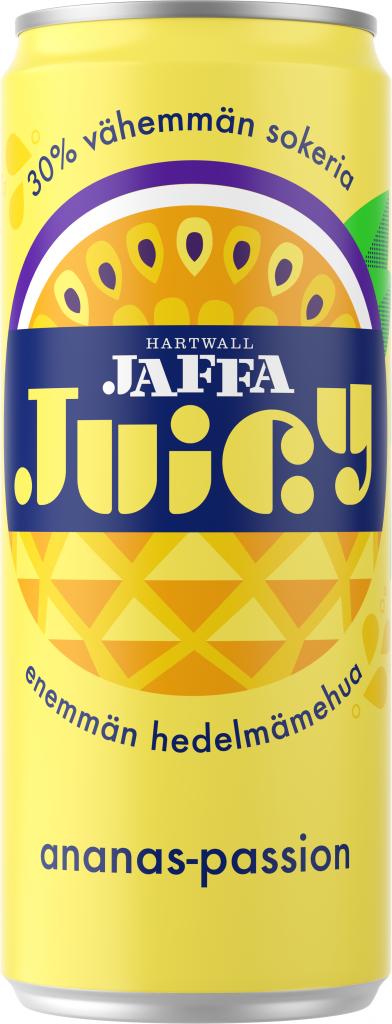 Hartwall Jaffa Juicy Ananas-Passio 0,33l tlk