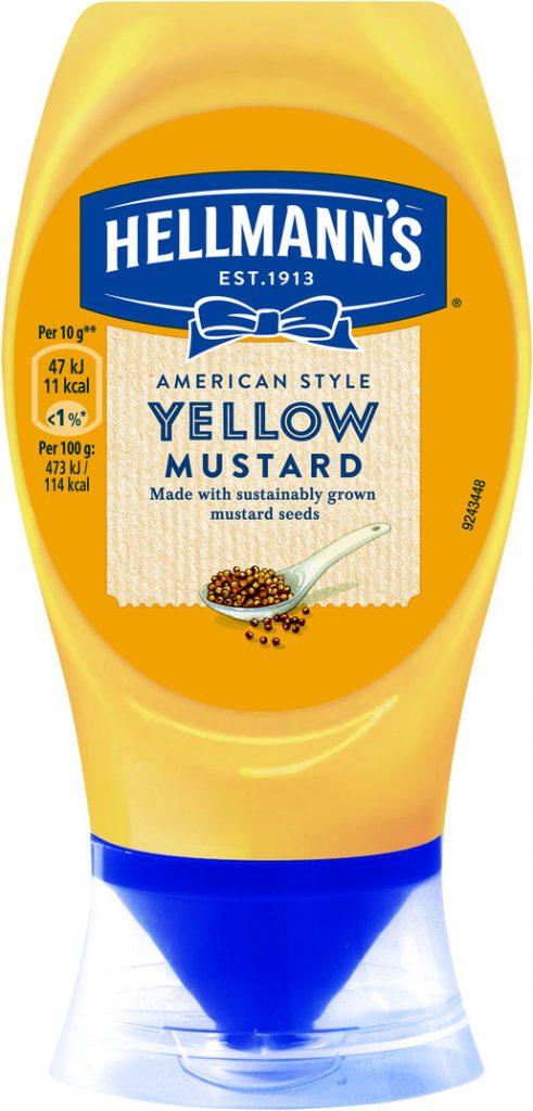 Hellmanns  Yellow Sinappi 260g