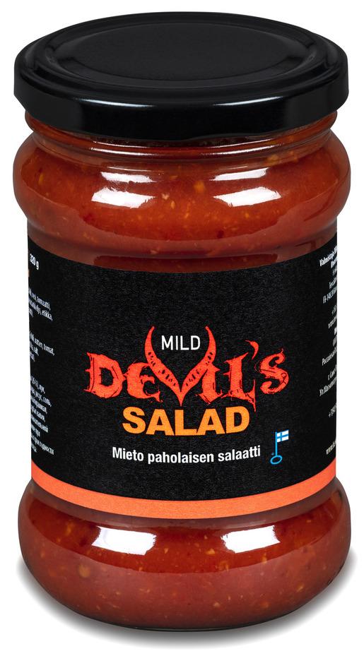 Herkkumaa Paholaisen Salaatti Mieto 320g (G,M)