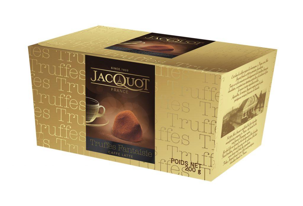 Jacquot Premiumtryffeli Caffe Latte 200g