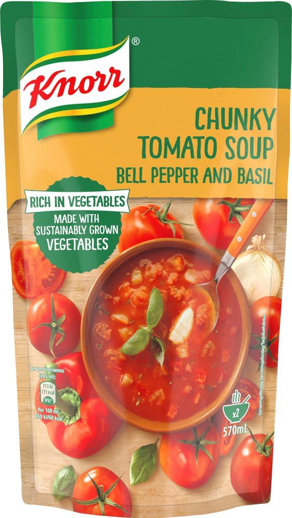 Knorr Tomaattikeitto Paprikalla Ja Basilikalla 570ml (G)
