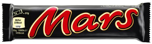 Mars Suklaapatukka 51g