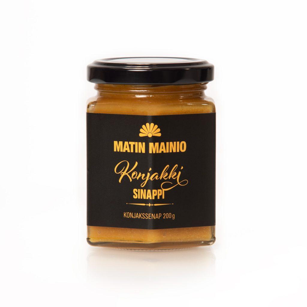 Matin Mainio konjakki sinappi 200g (G, L, M)