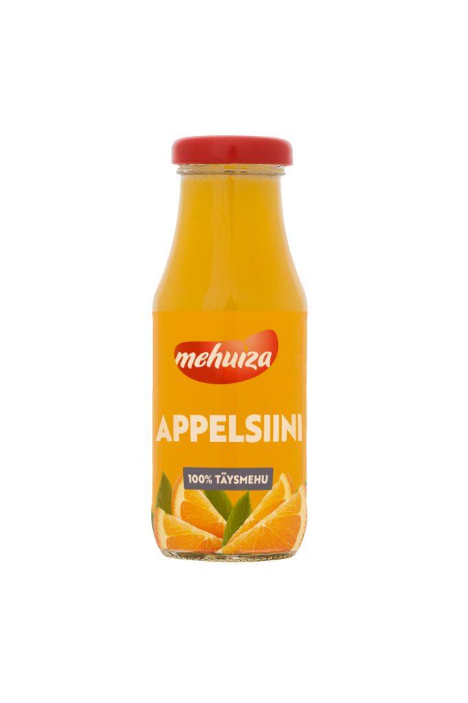 Mehuiza 100% Appelsiinitäysmehu 200ml (G,L,M,V)