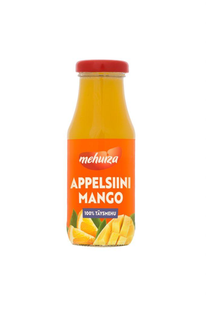 Mehuiza Appelsiini-Mango Täysmehu 200ml (G,L,M,V)
