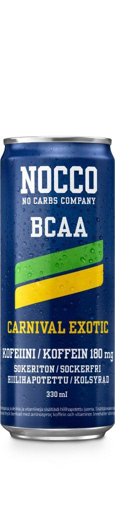 Nocco Bcaa Carnival 0,33l