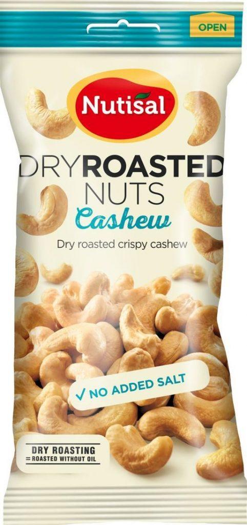 Nutisal Natural Cashew 60g (G,V)