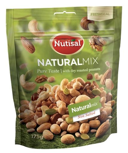 Nutisal Natural Mix Pähkinäsekoitus 175g (G,M,L,V)