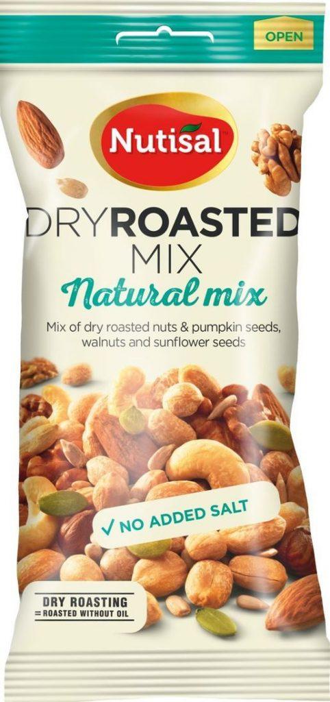 Nutisal Natural Mix Pähkinäsekoitus 60g