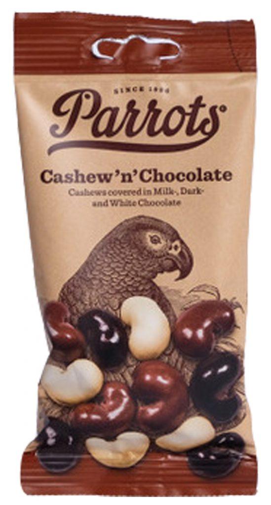 Parrots Cashew & Chocolate 55g